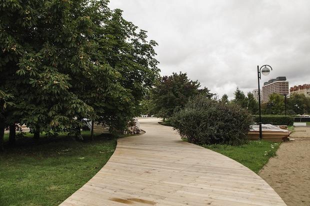 В парке «Музеон» построят деревянную лестницу для отдыха. Изображение № 6.