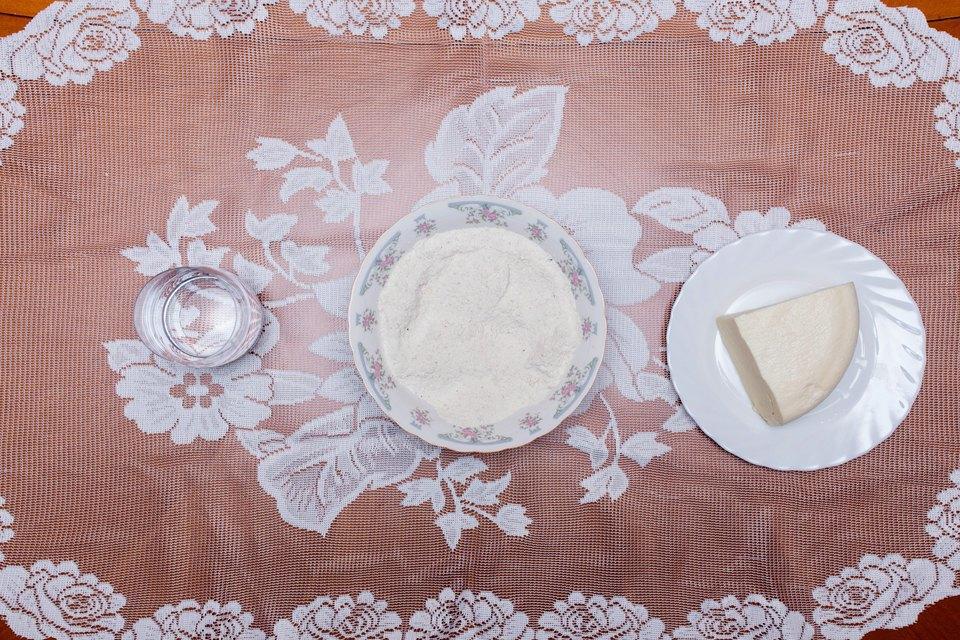 Мамалыга: кукурузная мука, крупа, сулугуни, вода, соль.. Изображение № 14.