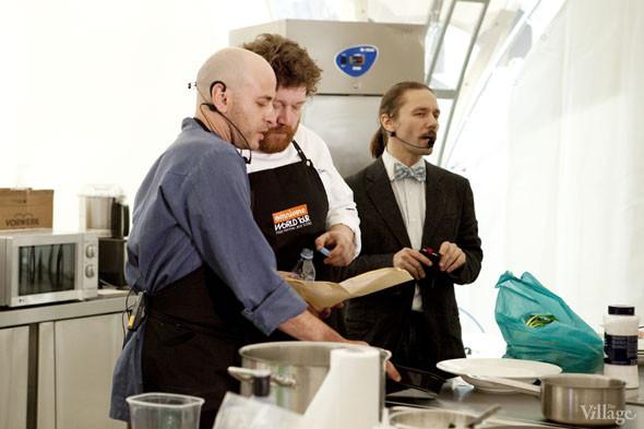 Omnivore Food Festival: Илья Шалев и Алексей Зимин готовят три блюда из редиса и черемши . Изображение № 4.