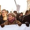 Фоторепортаж (Петербург): Митинг и шествие оппозиции в День России . Изображение № 3.