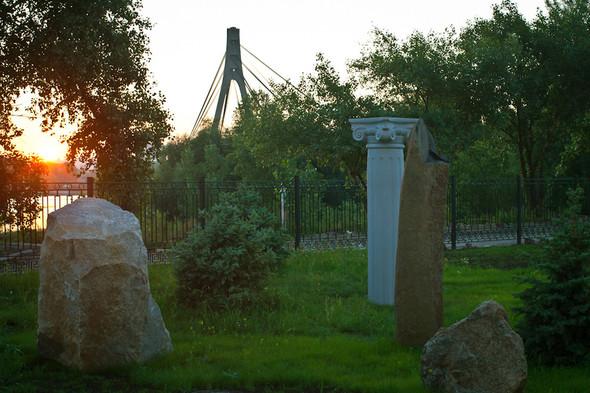 На Оболони появился сад камней. Зображення № 7.