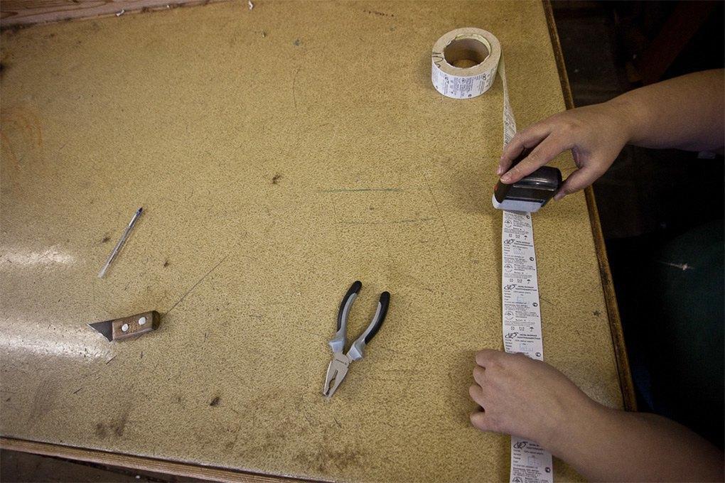 Производственный процесс: Как делают валенки. Изображение № 22.
