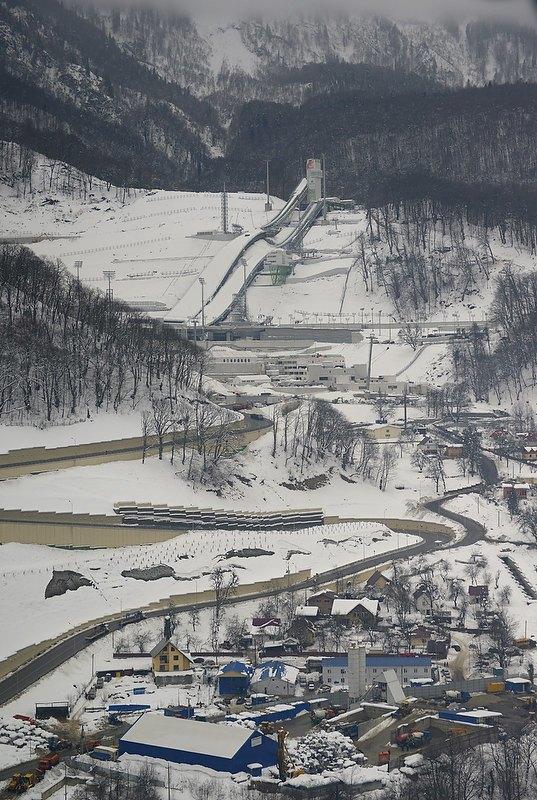 Дорога на Эльдорадо: Карта Олимпиады в Сочи. Изображение № 42.