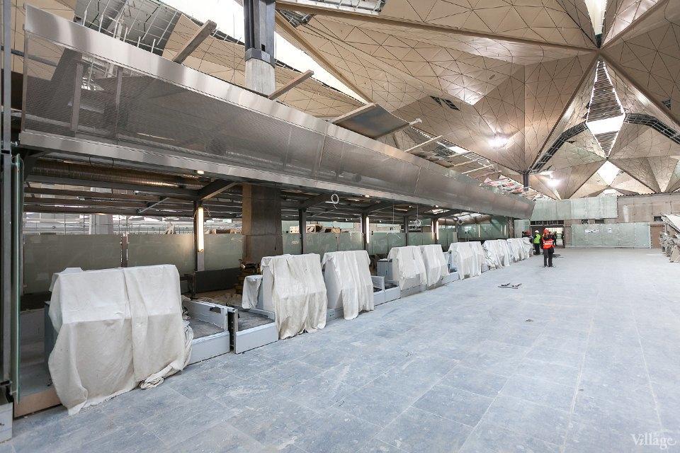 Фоторепортаж: Новый аэропорт изнутри. Изображение № 17.