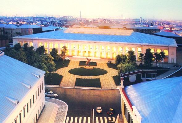 Киевские власти разрешили реконструкцию Гостиного двора. Зображення № 3.
