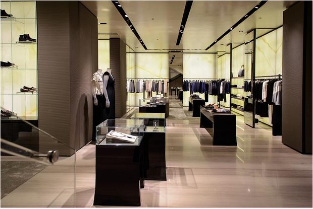 В Петербурге открылся бутик Giorgio Armani. Изображение № 2.