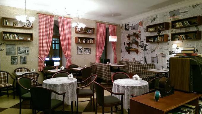 На Никольской улице открылось кафе «Вареничная № 1». Изображение № 1.