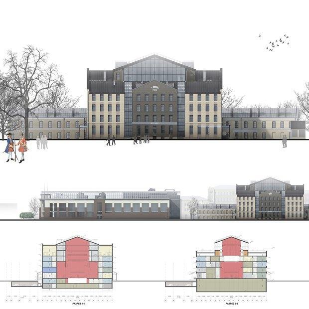 Определены сроки истоимость строительства «Театра Европы». Изображение № 4.