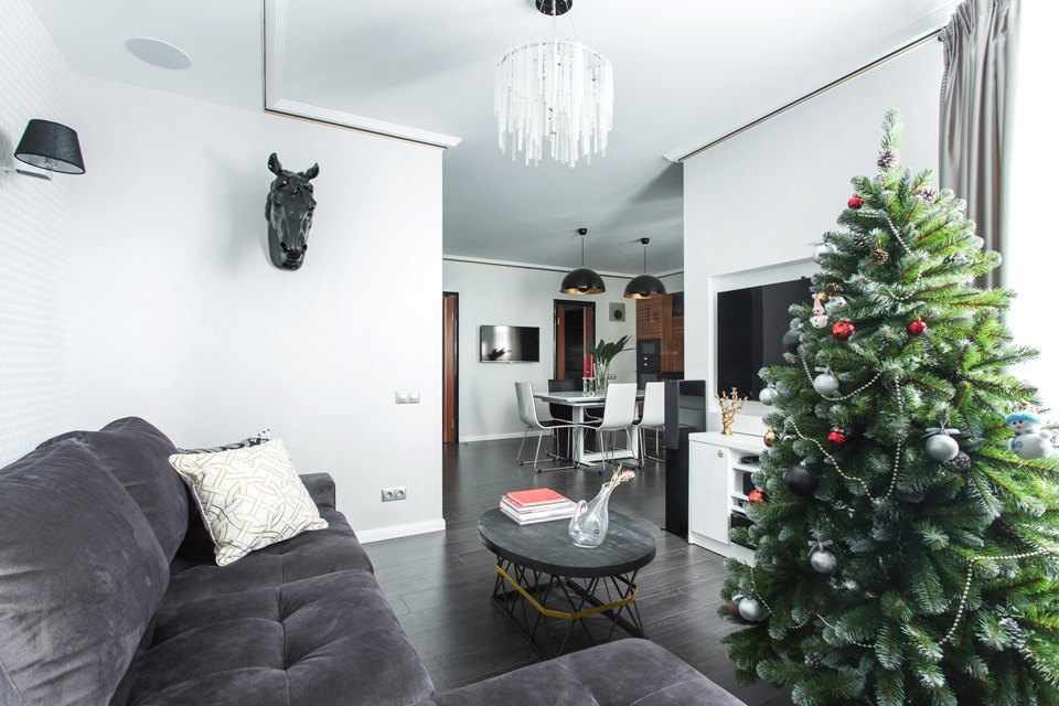 Трёхкомнатная квартира для большой семьи вВидном. Изображение № 14.
