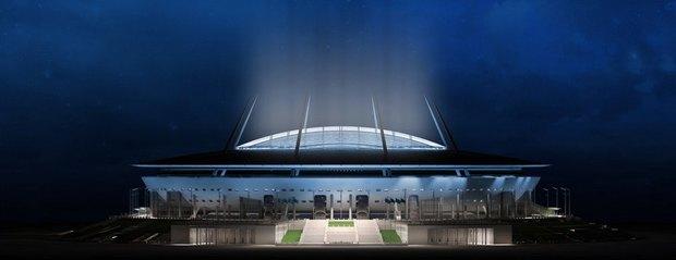Опубликованы финальные рендеры строящегося стадиона наКрестовском. Изображение № 1.