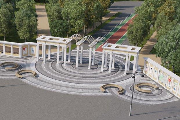 Новый центральный вход парка «Сокольники». Изображение № 1.