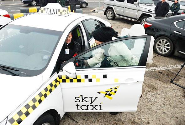 Специальная служба такси будет возить пассажиров от Борисполя до Киева. Зображення № 3.