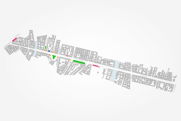Волонтеры составили карты препятствий и активностей на Невском. Изображение № 1.