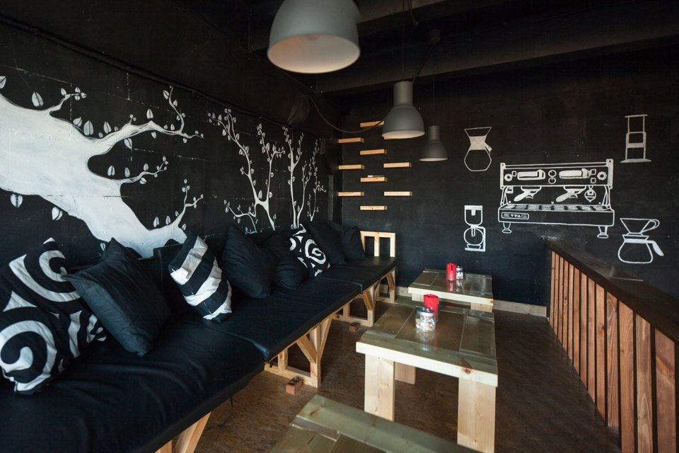 Кофейня Coffee3 влофте Contour . Изображение № 10.