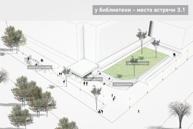 Перестройка: Проект библиотеки № 3 Петроградского района. Изображение № 7.