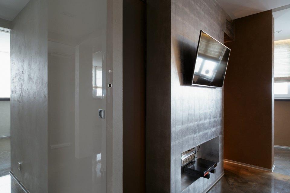 Трёхкомнатная квартира сэклектичным интерьером. Изображение № 23.