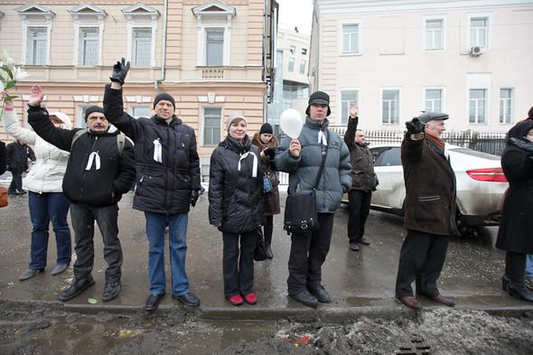 Близкое окружение: Участники акции «Белый круг» о проблемах Москвы. Изображение № 48.