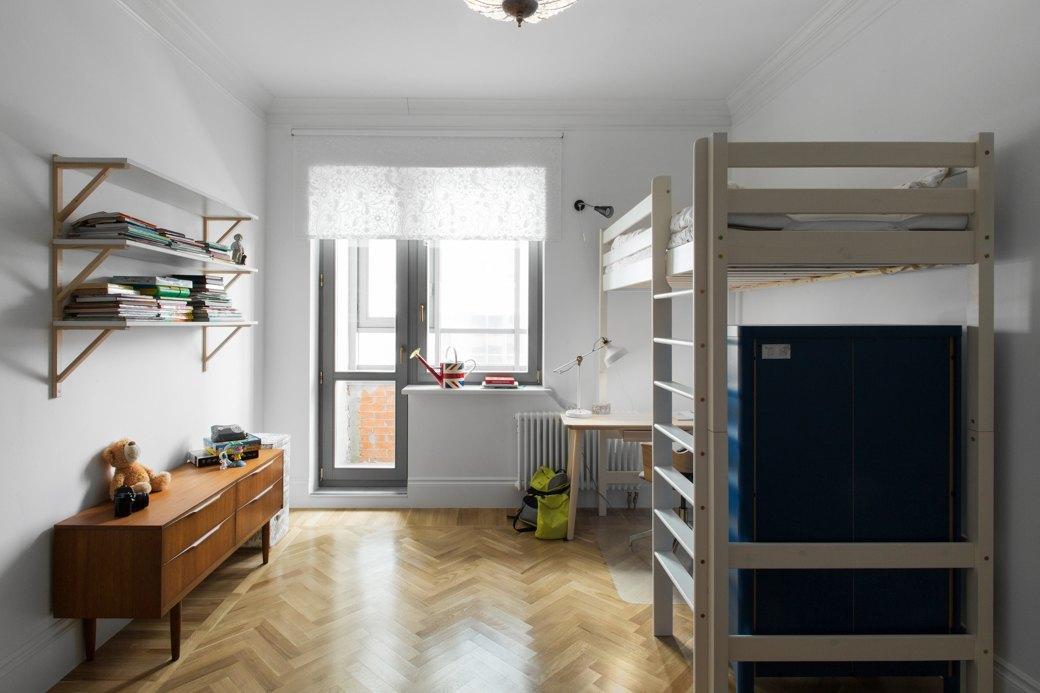 Лаконичная квартира вшведском стиле вновом доме наПетроградской стороне (Петербург). Изображение № 13.