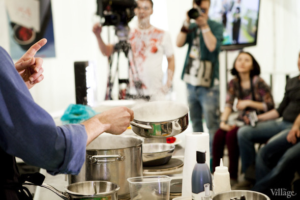 Omnivore Food Festival: Илья Шалев и Алексей Зимин готовят три блюда из редиса и черемши . Изображение № 10.
