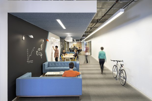 Новые подходы корганизации офисного пространства. Изображение № 4.