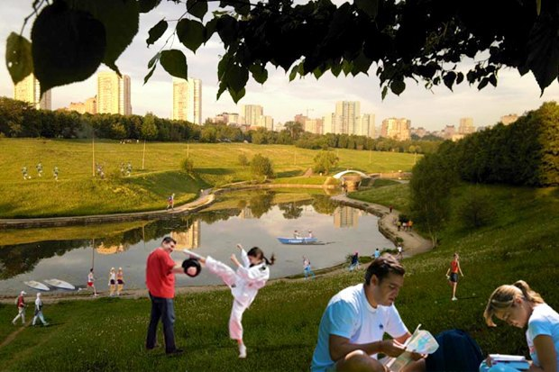 Чего хочет Москва: Четыре районных парка. Изображение № 37.