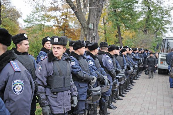 Copwatch: Действия милиции на акции «Вперёд!» возле Верховной рады. Изображение № 3.
