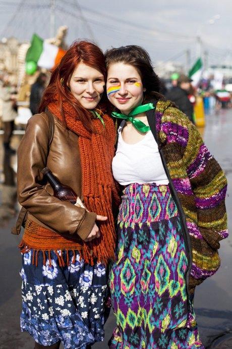 Люди в городе: Участники парада вчесть Днясвятого Патрика. Изображение № 24.
