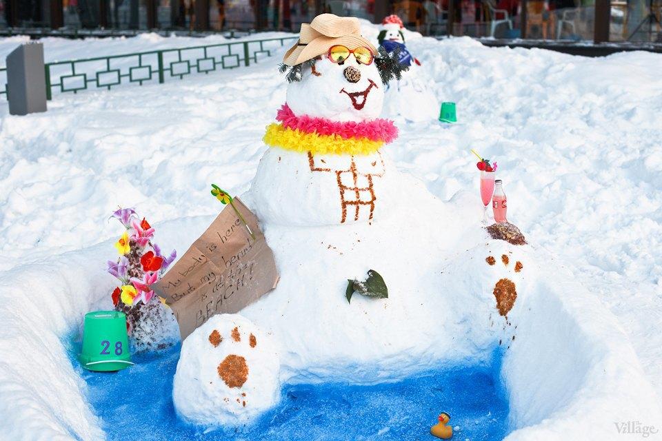 Люди в городе: «Арт-битва снеговиков». Изображение № 27.