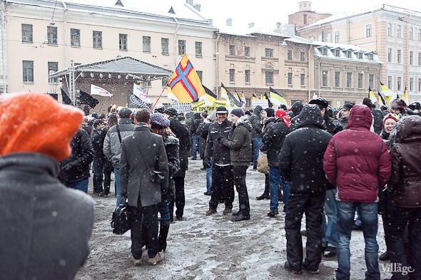 Два санкционированных митинга в Петербурге собрали 2 500 человек. Изображение № 27.