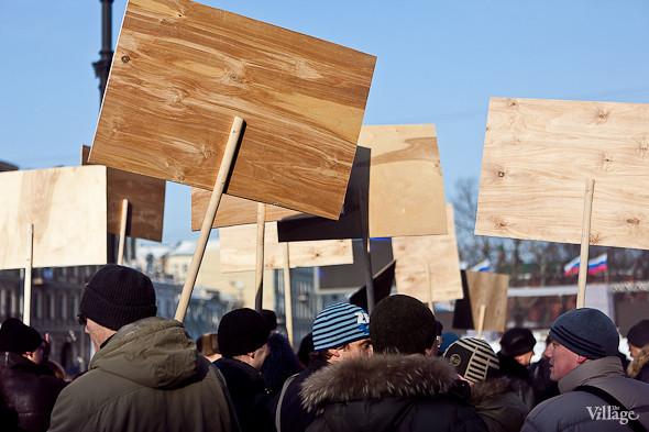 Фоторепортаж: Митинг в поддержку Путина в Петербурге. Изображение № 52.