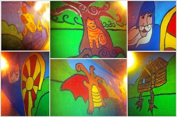 Добровольцы разукрасили туннель около «Винзавода». Изображение № 10.