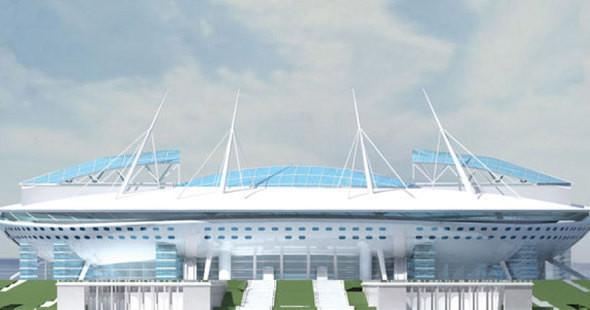Вид на стадион с раскрытой крышей. Изображение № 16.