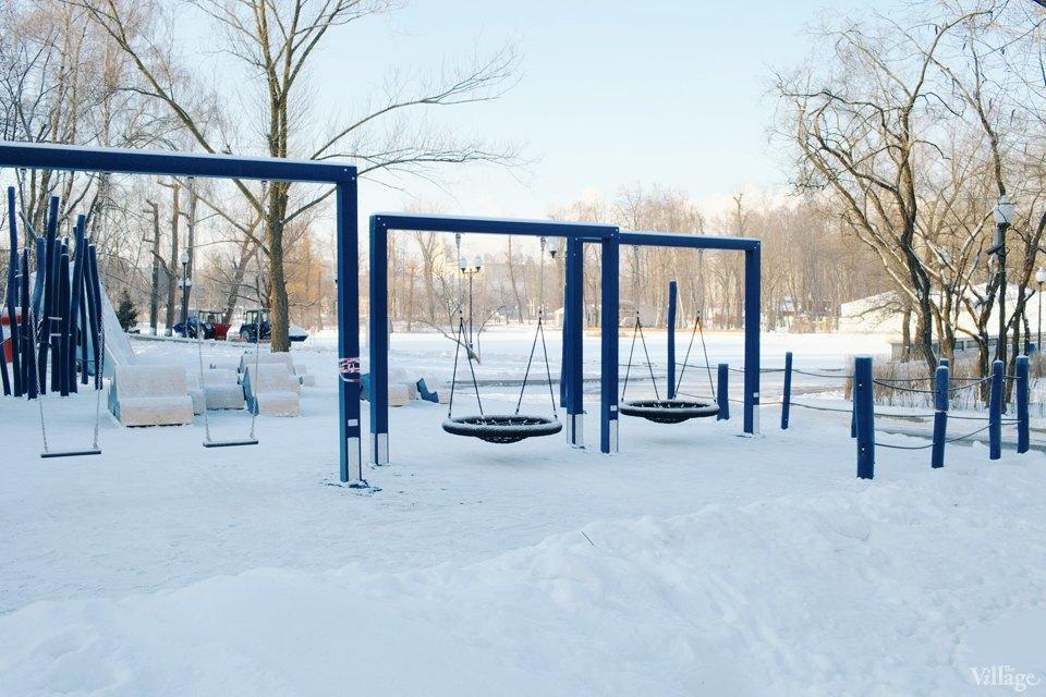 Фоторепортаж: Детская площадка Monstrum впарке Горького. Изображение № 13.