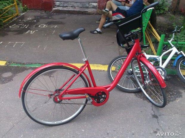 Велосипеды из общественного проката появились в продаже на «Авито». Изображение № 2.