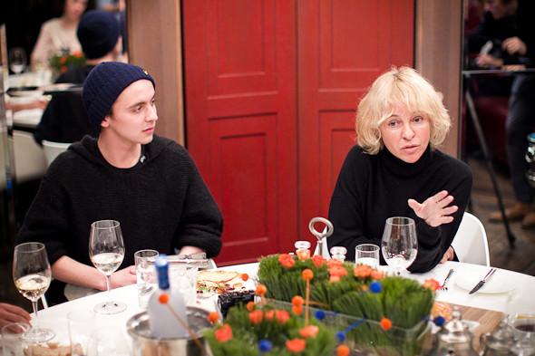 Разговоры на спортивном ужине. Изображение № 33.