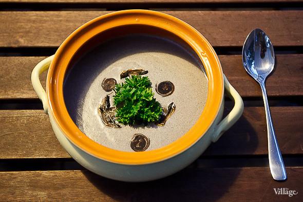 Крем-суп из шампиньонов — 250 рублей. Изображение № 33.
