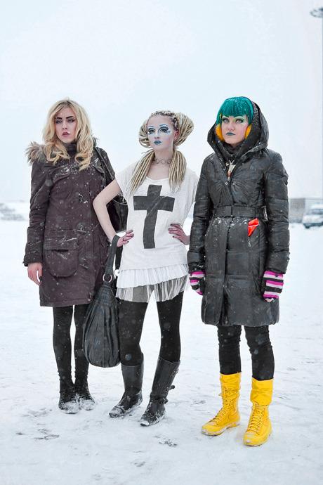Люди в городе: Посетители концерта Lady Gaga в Москве и Петербурге. Изображение №34.