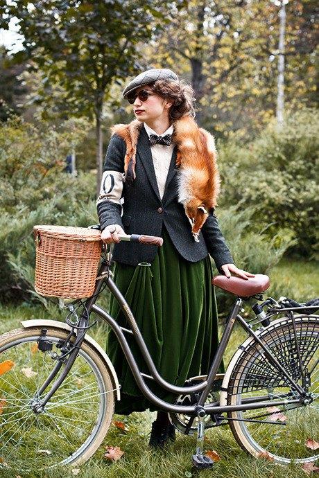 С твидом на город: Участники велопробега Tweed Ride о ретро-вещах. Изображение № 106.