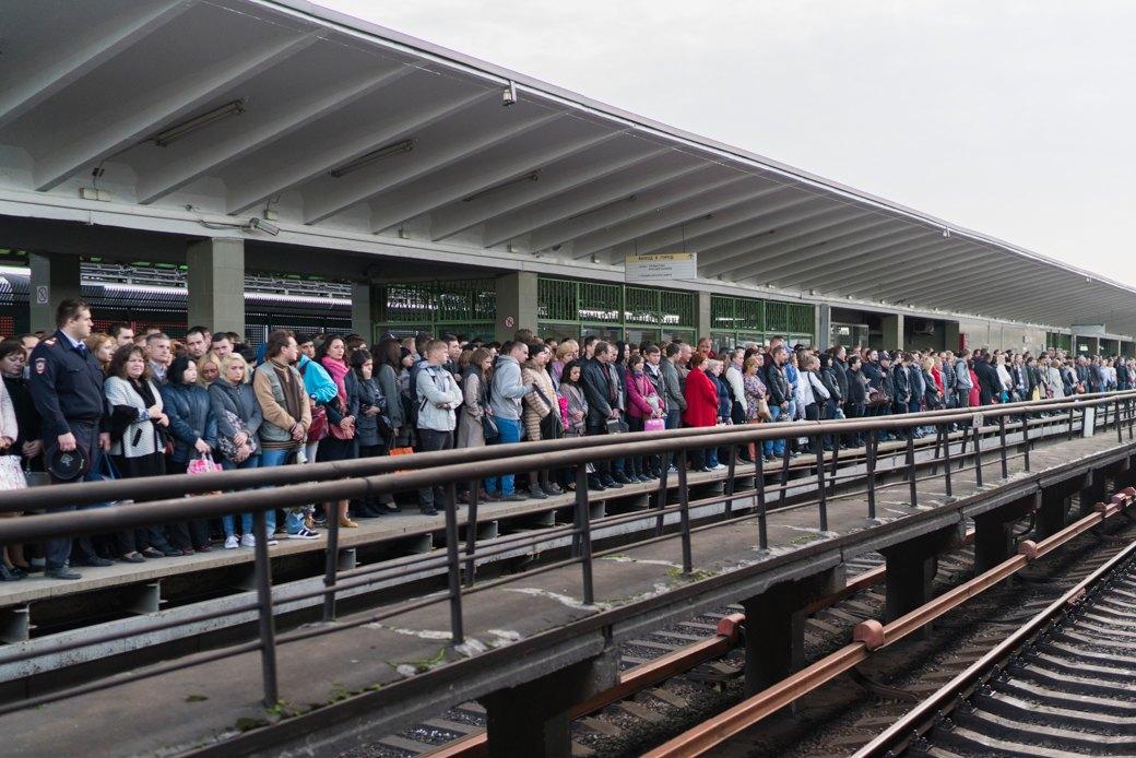 Эффект «Котельников»: Стал лисвободнее самый загруженный участок метро. Изображение № 8.