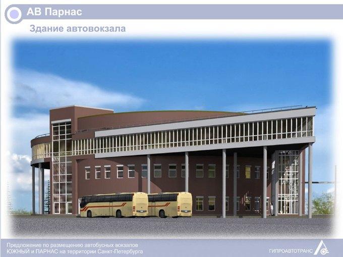 «Пассажиравтотранс» представил проекты автовокзалов у«Парнаса» и«Купчино» . Изображение № 5.