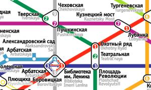 Челябинский дизайнер предложил упростить московское метро. Изображение №2.