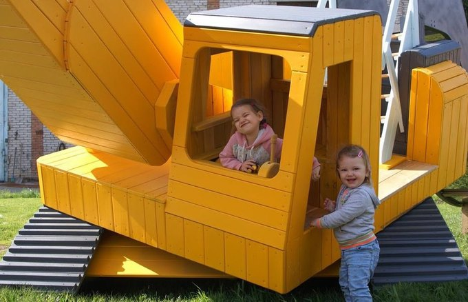 В Нескучном саду появится детская площадка «Стройка». Изображение № 2.