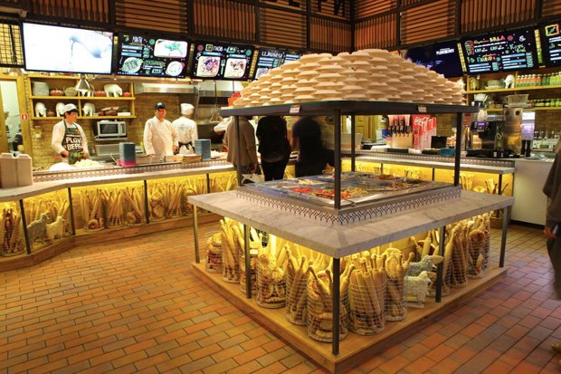 Суши-бар Buba, ресторан «Бабель», пиццерия Zotman Pizza Pie, кафе Ploveberry. Изображение № 3.