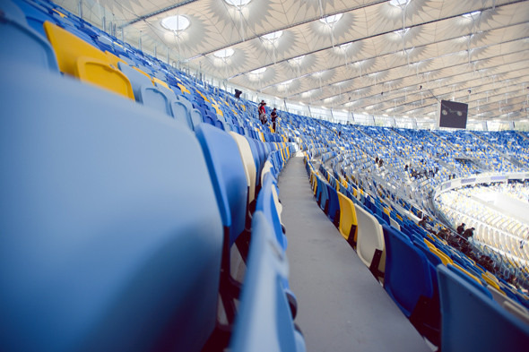 Выходит на арену: Как реконструировали стадион «Олимпийский». Изображение № 9.