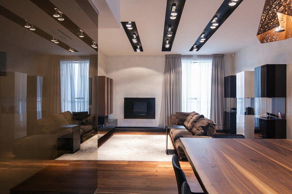 Квартира для семьи  с минималистским интерьером. Изображение № 11.