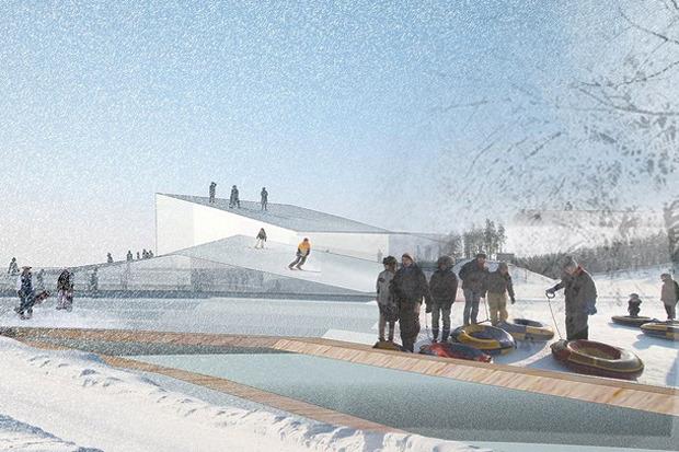 Для Петербурга разработали проекты эко отеля, банка и досугового центра. Изображение № 16.