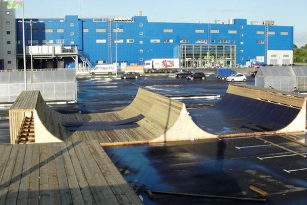 На Пулковском шоссе открылся один из крупнейших скейтпарков в России. Изображение № 3.