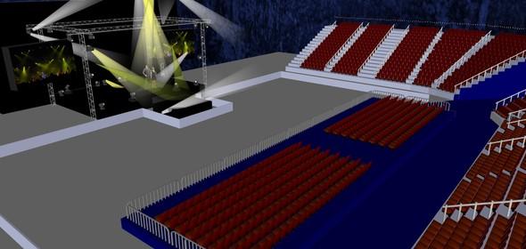 Схема нового зала