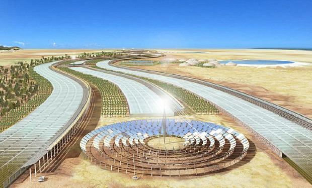 Дизайн от природы: Дом-термитник, жилая дюна и оранжереи в пустыне. Изображение № 21.