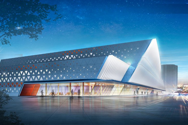 Эскизный проект спортивного комплекса хоккейного клуба «СКА» . Изображение № 2.